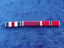 Ordensspange WWII mit 3 Ribbons: Silver Star, Legion of Merit, Bronze Star: