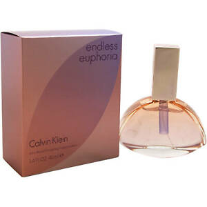 New Women's Calvin Klein Endless Euphoria EDP Spray 1.4 Fl oz (Retail Box)