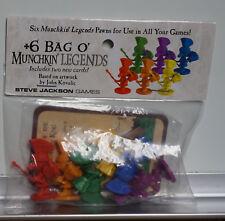Steve Jackson Games: Bag O' Munchkin Legends + bonus