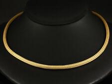 Sehr schöne Strick Kette Collier 24,9g 750/- Gelbgold ca. 42cm Länge