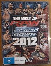 WWE The Best of Raw and Smackdown 2012 3-Disc DVD Set