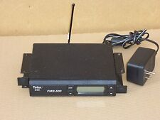Telex Clear Scan FMR-500 UHF B Band - Wireless Microphone System Receiver, 1-Ant