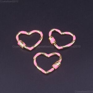 Solid Metal Multicolor Jewelry Crafts Bracelet Connector Charm Beads Gold Pick
