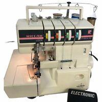 Vintage Riccar Lock RL634 Serger 2 needle 4 thead Knit-Lock Sewing Machine Pedal