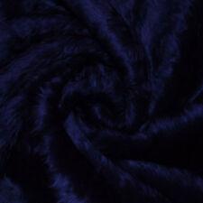 Navy Faux Fur Fabric