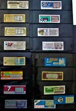 Missouri Instant Lottery Tickets, EARLY issues from 1986 thru 1988, 29 diff