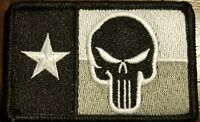 TEXAS State Flag Patch W/ VELCRO® Brand Fastener Tactical USA The Revenger  #19