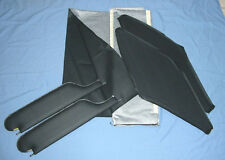 66-67 chevelle SS 2 post coupe sun visors & headliner black  dot