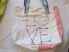 Juniors womens girls Volcom Love  beach pool bag Getaway Canvas Beach Tote NEW*^
