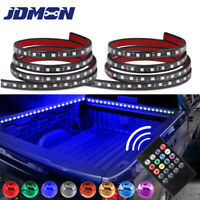 """2X 60"""" RGB LED BAR TRUCK CARGO BED LIGHT STRIP KIT FIT FOR CHEVY FORD DODGE GMC"""