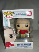 Funko Pop Movies Tom Hanks Mister Rogers Beautiful Day Vinyl Figure-New