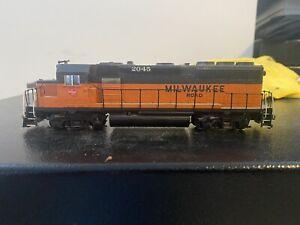 The Milwaukee Road #2045 Locomotive USED No Box