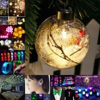 Luminous Led Balloon Transparent Round Bubble Decoration Party Wedding Xmas