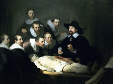 The Anatomy Lesson Of Dr. Nicolaes Tulp by Rembrandt, Oil Painting Reproduction