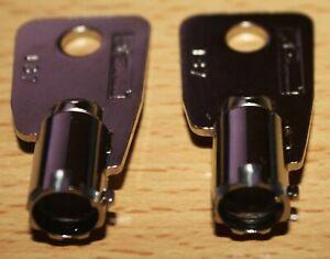 2-Key cut to code H51-H69 Homak Gun Safe, Kennedy, Extreme Tools Brand. Tool box