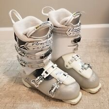 Nordica Nxt N3 Women's Ski Boots, Size 26.5, white and gray, plush interior