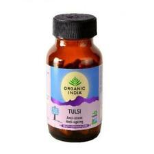 Organic India Tulsi - 60 Capsules Bottle(All organic & ayurvedic ingredients )