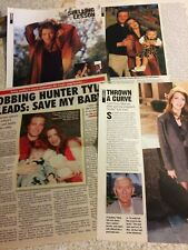 Hunter Tylo, Lot of THREE Full and Two Page Clippings