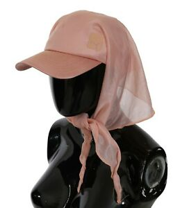 PUMA Hat Peach Women's Baseball Cap With Scarf Outdoor Sun Protection