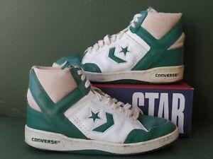 Vintage Converse Weapon Basketball Shoes NBA Aguirre Bird Dr J 9 8.5 Korea 80´s