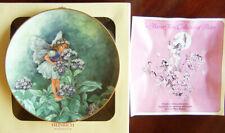 "Villeroy & Boch/Heinrich ""HELIOTROPE FAIRY"" Cicely M Barker Flower Fairies Plate"
