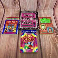 Jacqueline Wilson childrens books x 4 bad girls the b&b stars the lottie project