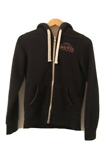 Women's Jack Wills Hoodie Hoody UK Size 8 Fleece Lined