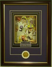LSU Tigers Football Joe Burrow Heisman Trophy framed print 2019 National Champs