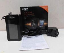 TDK iPhone/iPod Docking Flip Down Clock Radio - TA4210 for iPhone 5