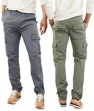 Pantaloni Uomo con Tasconi Laterali Cotone Cargo Multi Tasche GIROGAMA 8005IT