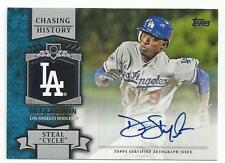 "DEE GORDON 2013 Topps Chasing History Auto ""Steal Cycle"""