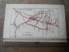 TUTBURY BURTON EGGINTON DOVE WILLINGTON TRENT BRANSTON JUNCTION RAILWAY MAP 1928