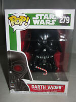 Funko Pop Star Wars Christmas Holiday Darth Vader Candy Cane Vinyl Figure-New