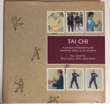 Tai Chi By Paul Crompton - A Practical Introduction To Therapeutic Effects HC