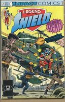 Legend of the Shield 1991 series # 2 very fine comic book