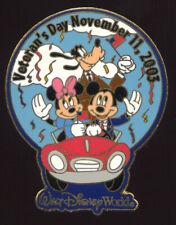 Walt Disney World Veteran's Day 2003 FAB 3 Pin LE 2500