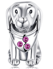 Puppy Dog S925 Sterling Silver Charm by Pandora's Kings NEW