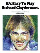 It's Easy to Play Richard Clayderman Book 1 Sheet Music Easy Piano Boo 014016323