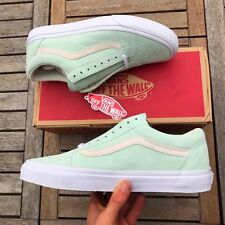 Vans Old Skool Pastel Green And White Size UK 7.5 Brand New With Box And  Tags f35ef393b