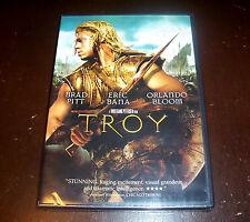 TROY Brad Pitt Eric Bana Orlando Bloom Trojan War Ancient Greece War Legend DVD