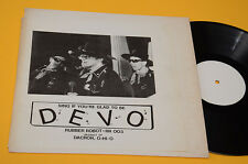 DEVO LP SING IF YOU'RRE GLAD TO BE ORIG EX ! MONSTER RARE RUBBER ROBOT EX+ !!