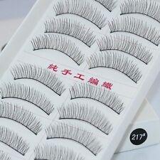 Makeup 10 Pairs Handmade False Eyelash Extension Long Thick Soft Fake Lashes 217