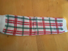my little legs LEG WARMERS green red pink plaid style  NEW