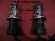 2 Bombillas Recambio H4 H4-3 HID kit Bi-xenon 35w 6000kº