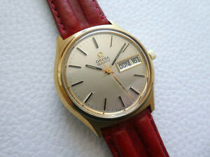 Wonderful Rare Vintage Big Size OMEGA Q. Men's dress watch from the 1975's year!