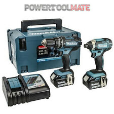 Makita DLX2131J DTD152Z Impact Driver and DHP482Z Combi Drill Twin Kit
