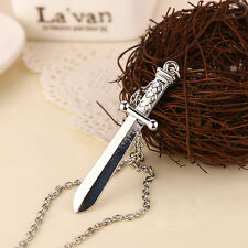The Expendables 2 necklace Sylvester Stallone sword dagger knife pendant jewelry