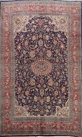 Vintage Floral Traditional Hand-knotted Area Rug Home Decor Oriental 7x10 Carpet
