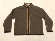 Woolrich 100% Wool Zip Up Jacket Womens Size Large (J17)