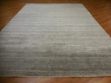 Super Fine Abstract Transitional Modern Grass Savaran Decore Design Rug 9x12